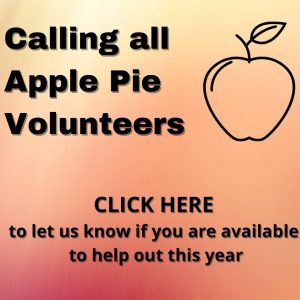 CLICK HERE to let us know if you are available this year to help out